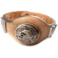 Мъжки кожени гривни тип часовник А307