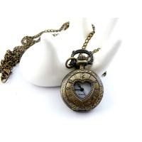 Дамски часовници с капаче Сърце