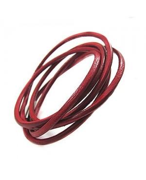 Унисекс дълги кожени гривни - 3 цвята