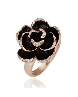 Дамски пръстени с роза
