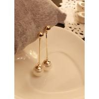 Дамски обеци с перли