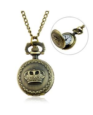 Дамски часовник за врат - Корона