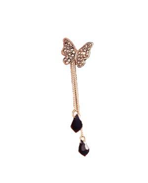 Дамски обеци Пеперуда