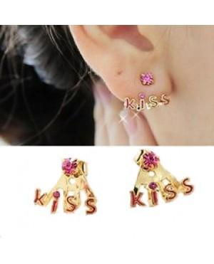 Дамски обеци Kiss